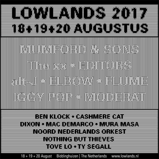 Lowlands 2019: Every 2017 Music Festival Poster (So Far) :: Design