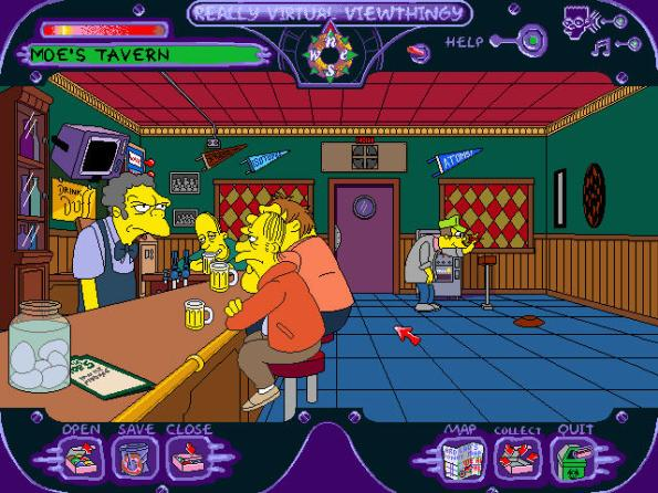 simpsons game pc