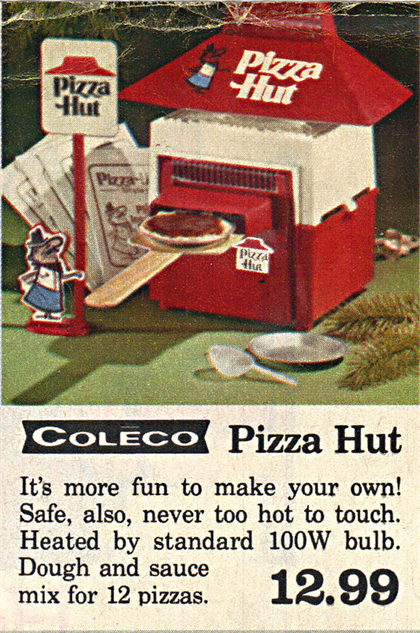 Pizza Hut Toys : Old school fast food toys that look like
