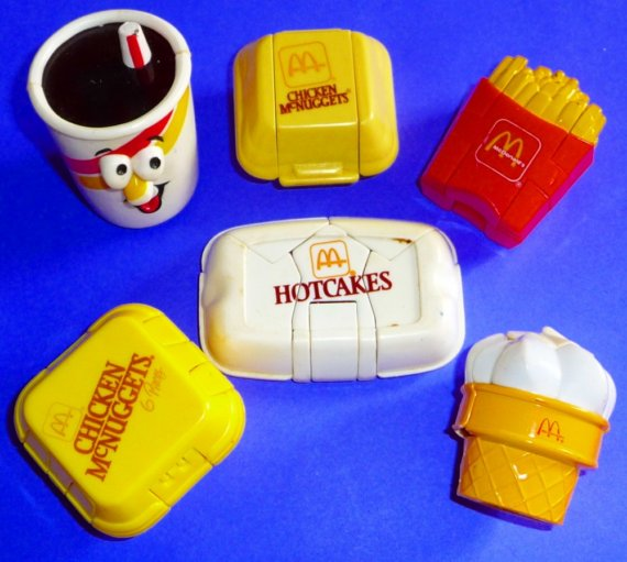 fast-food-toys 5-changeables