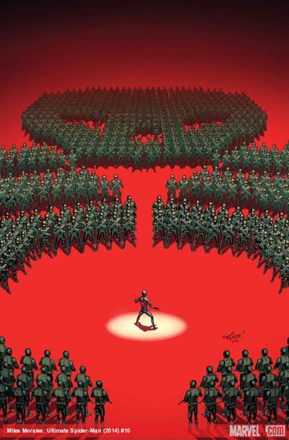 february-comic-covers davidmarquez-milesmorales-ultimatespiderman