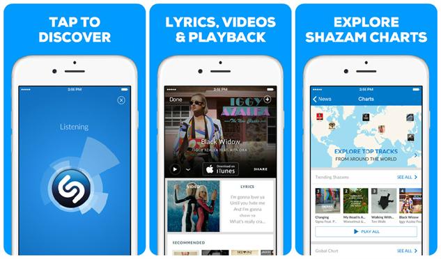 festival-apps shazam