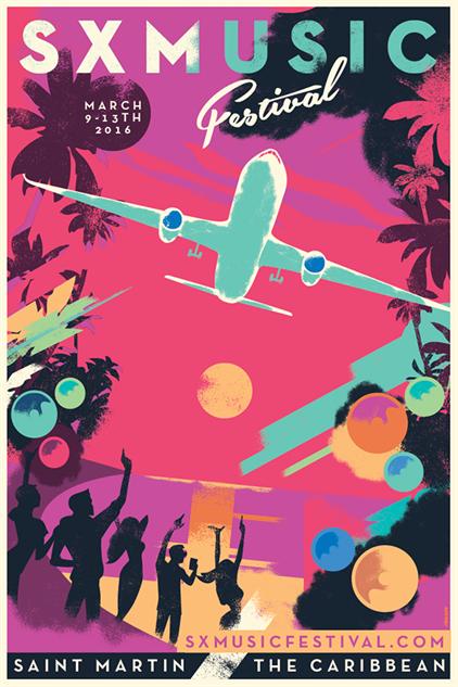 festival-posters-2016 sxm-st-martin