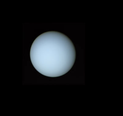 first-pictures-of-planets uranus-voyager-2