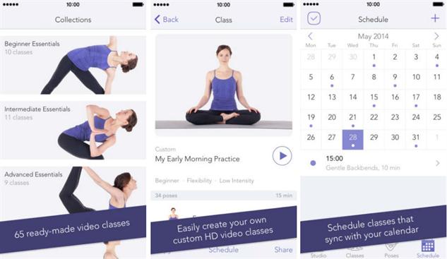 fitnessapps yoga