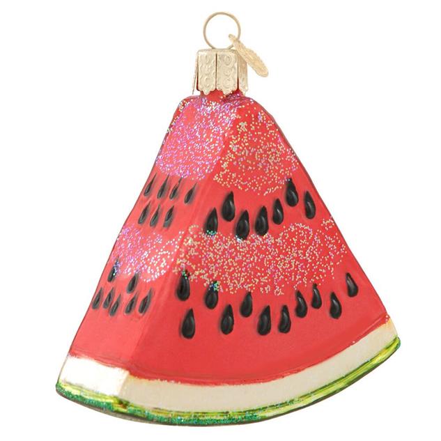 food-ornaments 11-bronners-watermelon