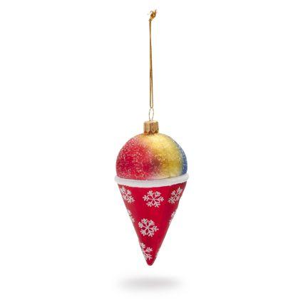 food-ornaments 15-snowcone