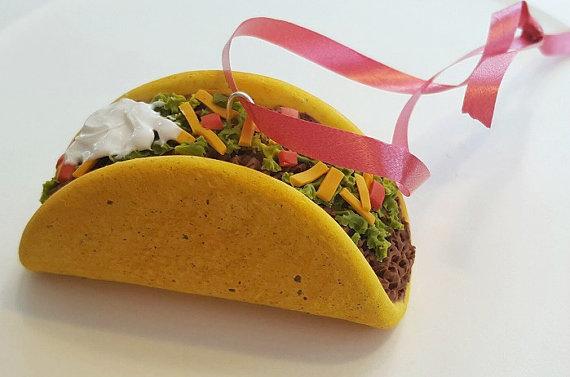 food-ornaments 16-taco