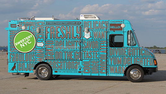 25 of the best food truck designs design galleries for Food truck blueprint