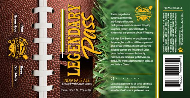football-craft-beer badger-legendary