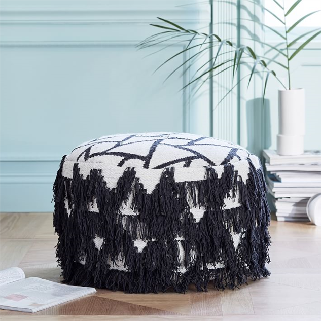 fringe-accent-decor pouf