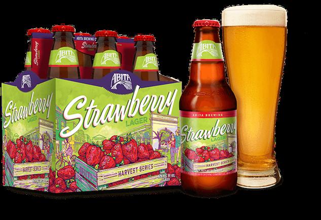 fruit-beer abita-strawbery