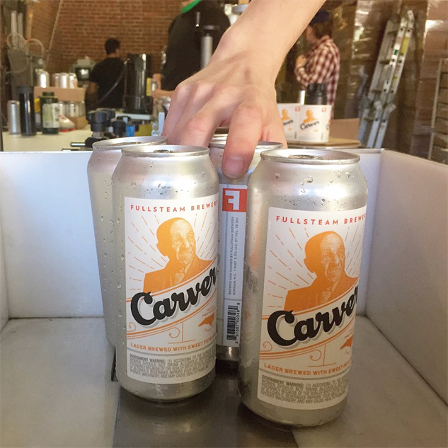 fullsteam-labels carver-lager