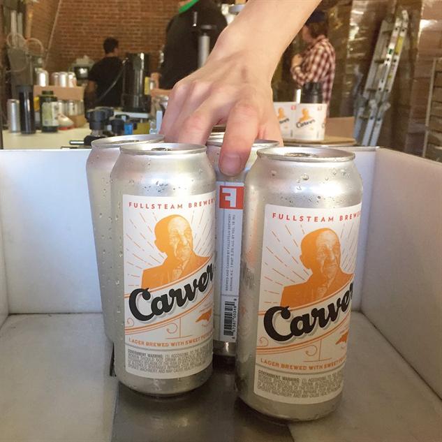 fullsteam-labels carver-lager