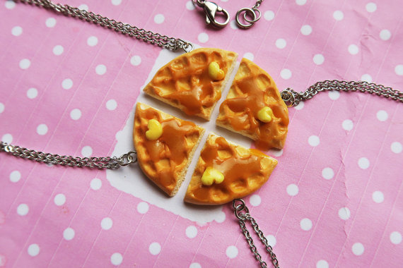 galentine-party 18-galentnes-day-quadruple-waffle-necklace