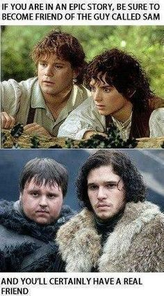 game-of-thrones-memes 24-memes-got-jon-snow-friend-sam