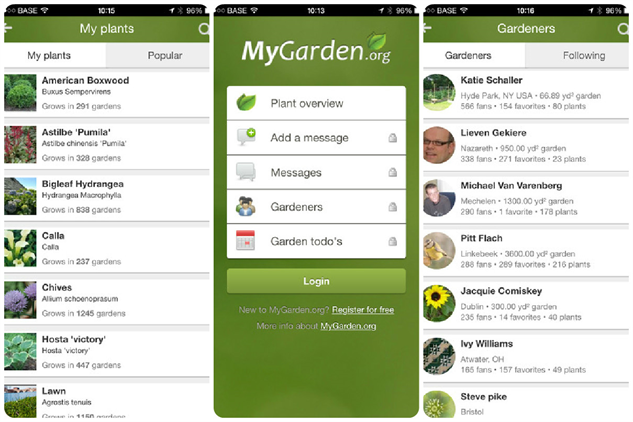 Garden app yves behar moves towards the connected garden for Garden planner app
