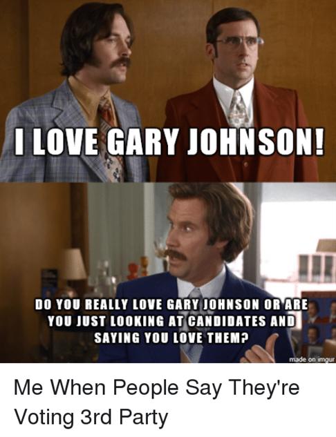 i love gary johnson do you really love gary johnson 3157647?1384968217 the best gary johnson memes comedy galleries paste