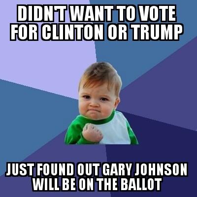 articles best gary johnson memes