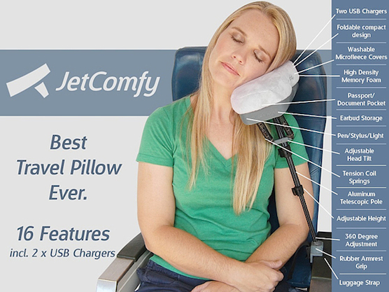 Travel Neck Pillow And Eye Mask