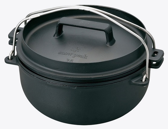 ggcamp snow-peak-cast-iron-oven