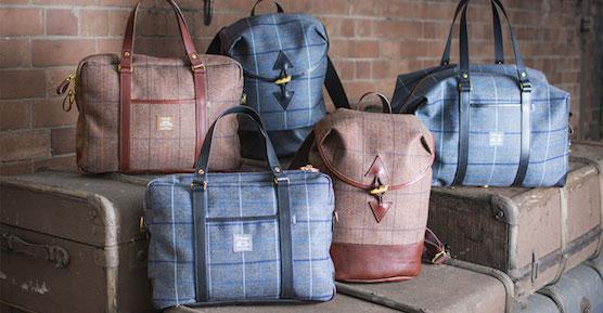 ggkick tweed-travel-bags