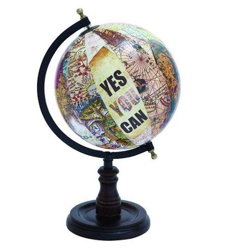 globes metal-2f-wood-globe