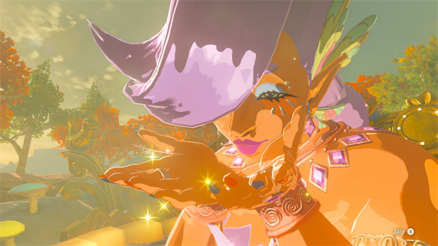 where are the great fairies in breath of the wild