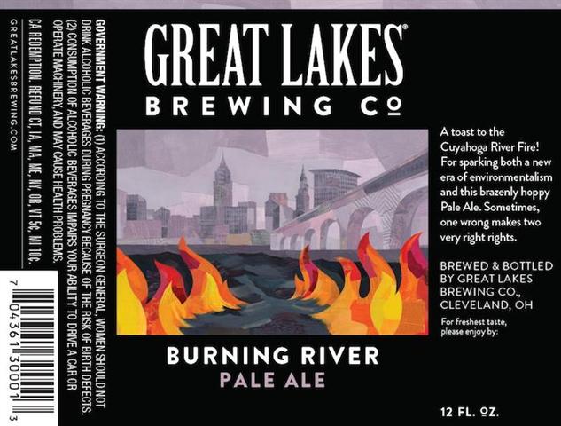great-lakes burning-river