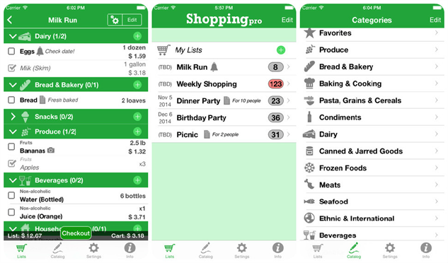 grocery-apps shoppingpro
