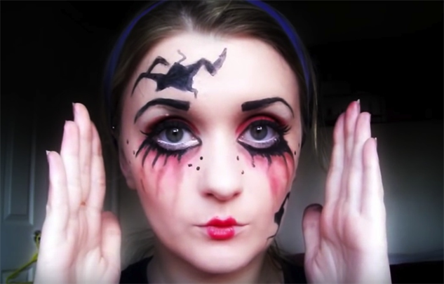 Oct 22 Porcelain Doll Halloween Makeup Tutorial. Rebecca Shores. Tutorial. Hey guys! Today I have another Halloween tutorial. This time its going to be porcelain doll inspired. This is a fun, wide eyed and flawless skin look that's perfect if you're wanting a doll-esque look for Halloween.