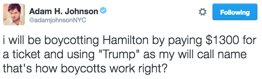 hamilton-tweets adamjohnsonnyc