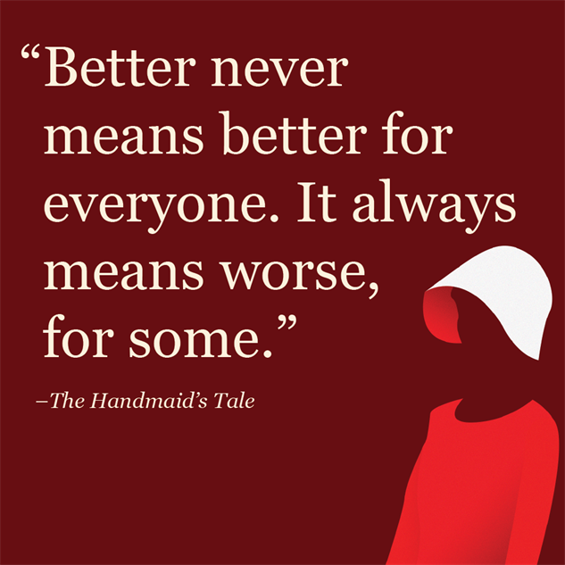 an analysis of the novel the handmaid s tale by margaret atwood The handmaid's tale, a dystopian novel released in 1985 is a pure classic from margaret atwood she is a canadian author, poet, critic, and novelist among her other books, this one literally takes the edge.