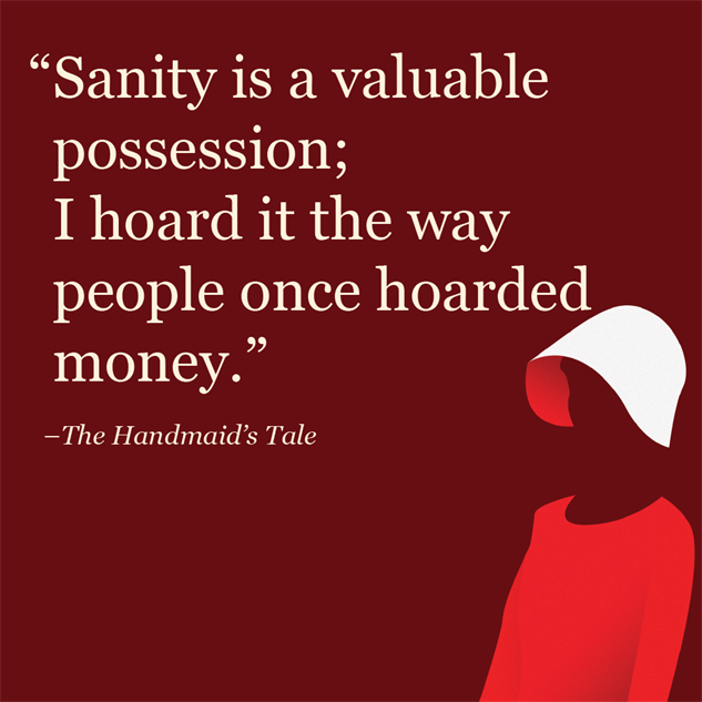 an analysis of the society in the handmaids tale by margaret atwood The handmaid's tale [margaretatwood] on amazoncom free shipping on   the handmaid's tale sparknotes literature guide (sparknotes sparknotes.