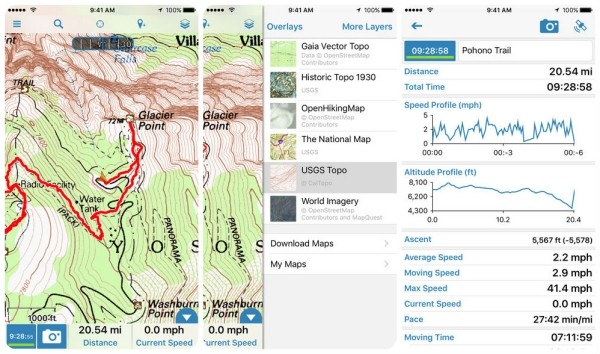 The Best Hiking Apps For IOS Tech Galleries Ios Paste - Topo maps app for iphone