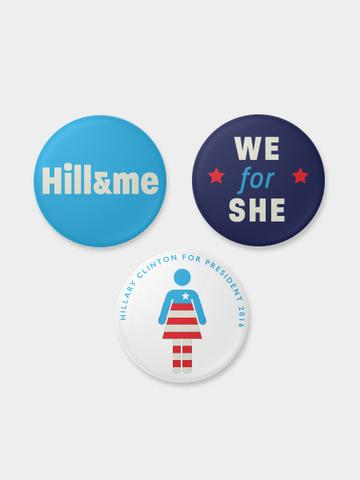 hillary-clinton-pins courtney-garvin-large