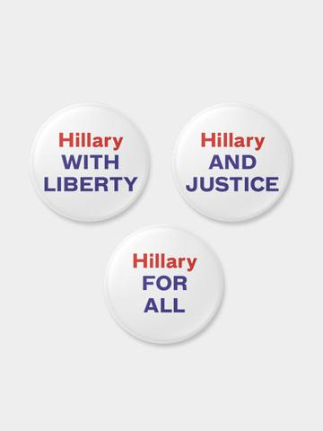 hillary-clinton-pins randy-hunt-large