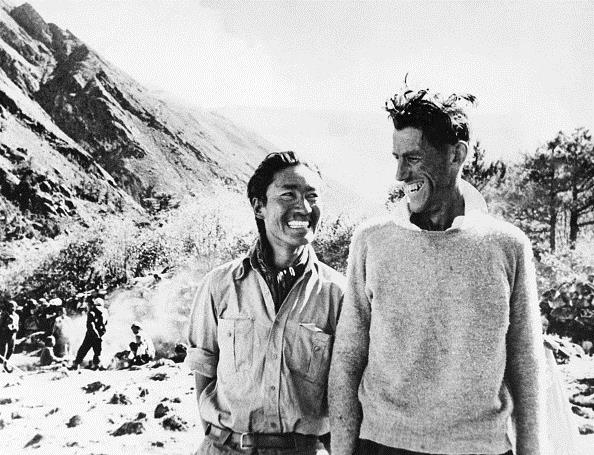 history-of-mountaineering hillary-and-norgay