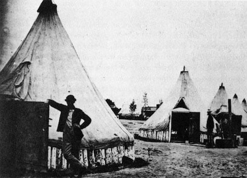 history-of-tents sibley-tent