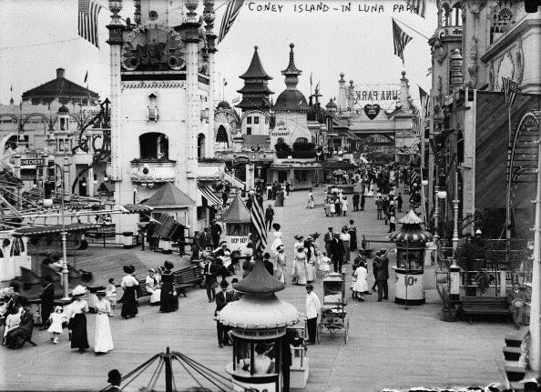 history-of-theme-parks coney