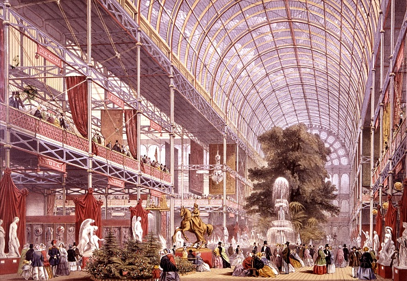 history-of-theme-parks crystal-palace