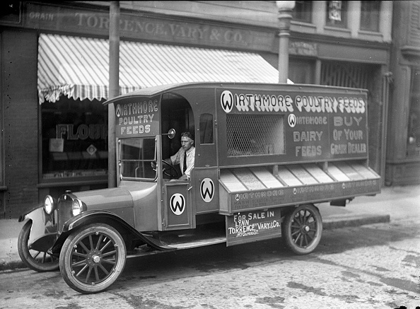 history-of-trucking 1910s-truck