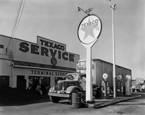 history-of-trucking truck-stop