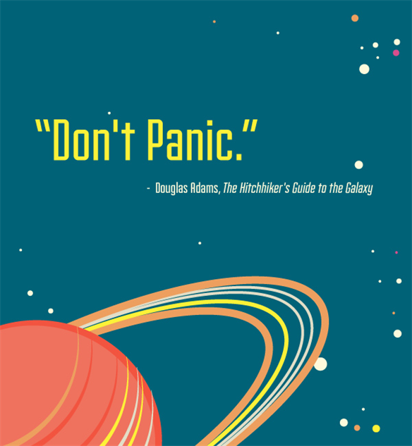 Galaxy Quotes Entrancing The 10 Best Quotes From The Hitchhiker's Guide To The Galaxy