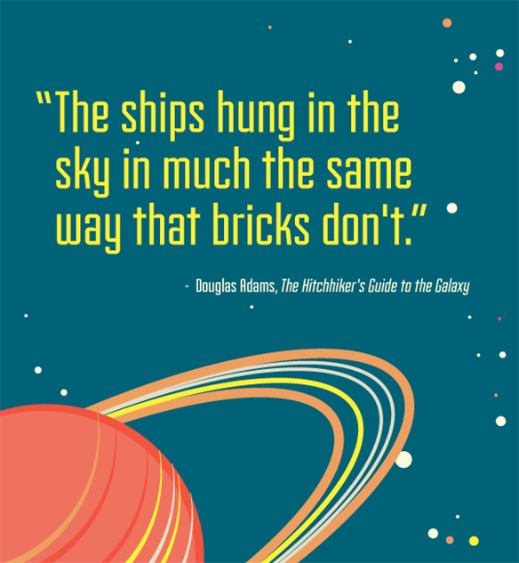 The 10 Best Quotes From The Hitchhiker S Guide To The