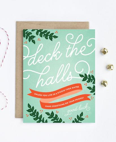 holidaycardz deck-the-halls