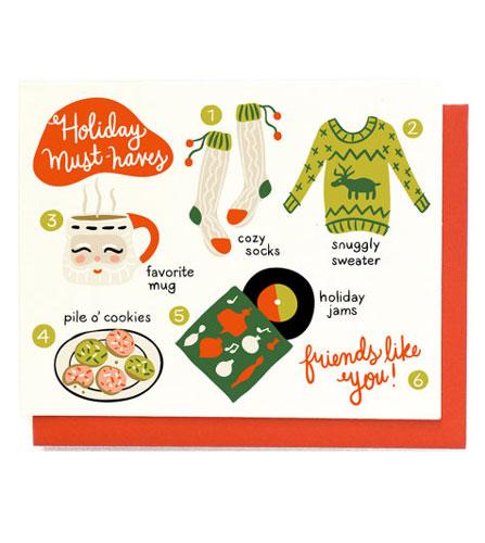 holidaycardz holidat-must-haves
