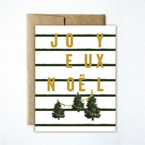 holidaycardz joyeuxnoel