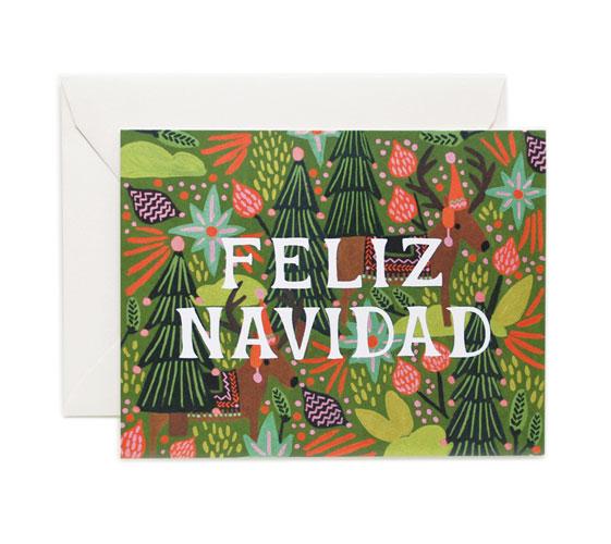 holidaycardz rifle-paper-co-feliz-navidad-holiday-card-01-1