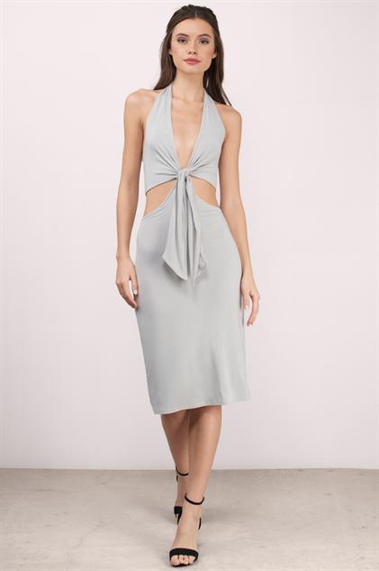hot-midi-dresses grey